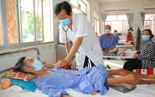 Bệnh nhân mắc lao đa kháng thuốc được điều trị tại BV Phổi Đồng Tháp