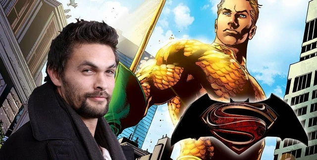 Diễn viên Jason Momoa sẽ đảm nhận vai Aquaman.