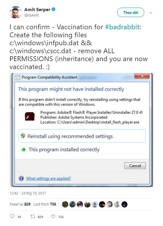 Hướng dẫn chi tiết cách phòng chống ransomware Bad Rabbit - Ảnh 9.