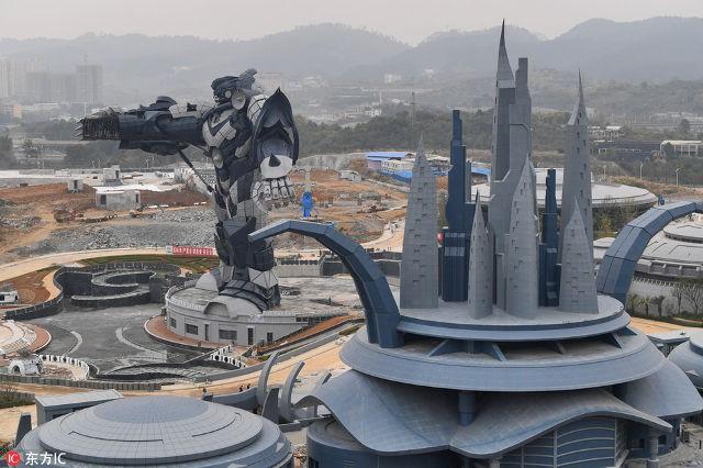 Công viên thực tế ảo khổng lồ của Trung Quốc chuẩn bị đi vào hoạt động: Rộng hơn 800 héc-ta, chi phí đầu tư 1,5 tỷ USD - Ảnh 2.
