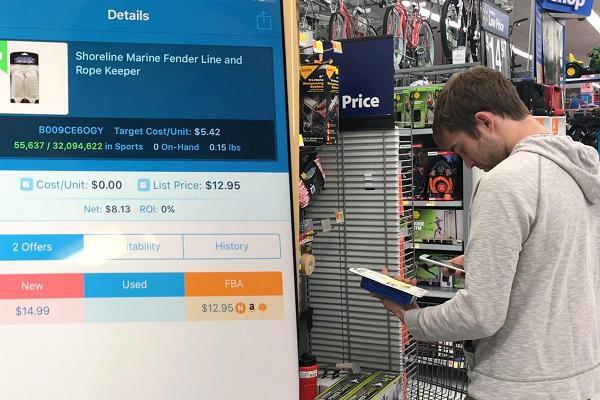 Mua hàng ở Walmart rồi bán lại trên Amazon, thanh niên lãi cả triệu đô - Ảnh 2.