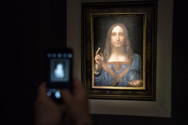 Tranh Da Vinci được đấu giá gần nửa tỷ USD, phá mọi kỷ lục - Ảnh 1.