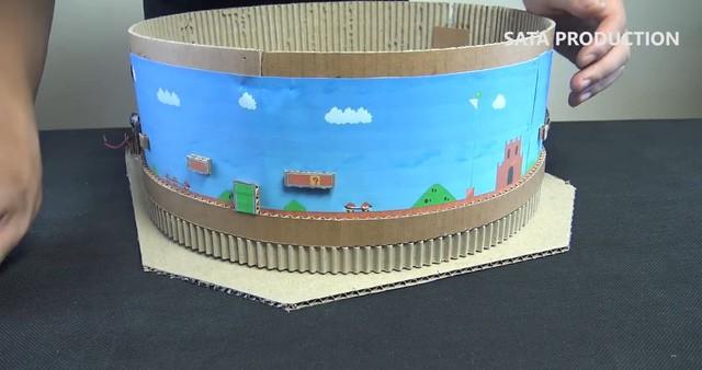 Hướng dẫn làm game Mario từ bìa các-tông cực đỉnh, hội yêu DIY chắc chắn sẽ thích mê - Ảnh 3.