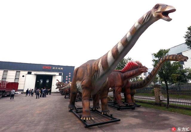 Thành phố khủng long ở Trung Quốc: Nơi tạo ra 90% mô hình khủng long trên toàn thế giới - Ảnh 3.