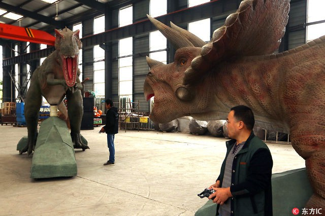 Thành phố khủng long ở Trung Quốc: Nơi tạo ra 90% mô hình khủng long trên toàn thế giới - Ảnh 4.