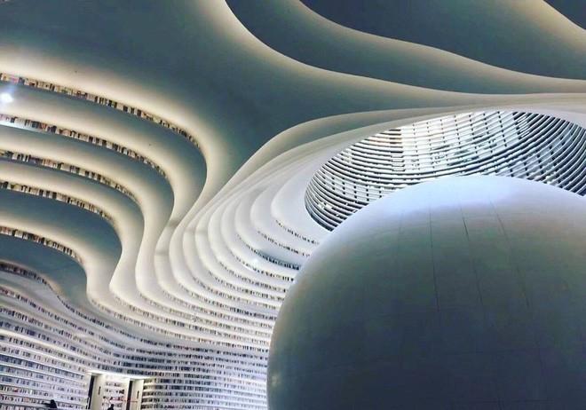 Bạn biết thư viện khổng lồ ở Trung Quốc chứ? Một nửa số sách ở đó không có chữ! - Ảnh 6.