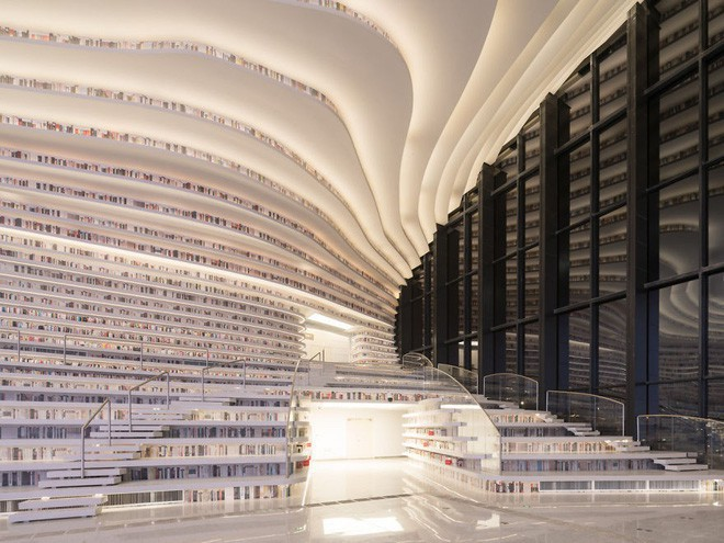 Bạn biết thư viện khổng lồ ở Trung Quốc chứ? Một nửa số sách ở đó không có chữ! - Ảnh 7.