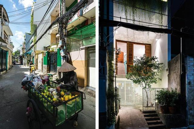 Ngôi nhà ống của đại gia đình trong hẻm nhỏ ấp ủ ý tưởng suốt 10 năm, đổi 3 đội thợ mới hoàn thành ở Sài Gòn - Ảnh 1.