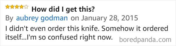 [Vui] Cười bò với những đánh giá hài hước về bộ dao thần kỳ 141 chức năng, trị giá 204 triệu trên Amazon - Ảnh 9.