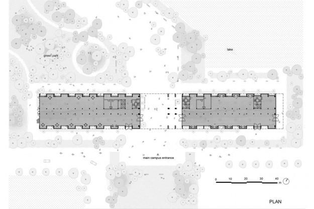 Đại học FPT do Võ Trọng Nghĩa Architects thiết kế lọt Top 10 công trình giáo dục tiêu biểu năm 2017 - Ảnh 6.