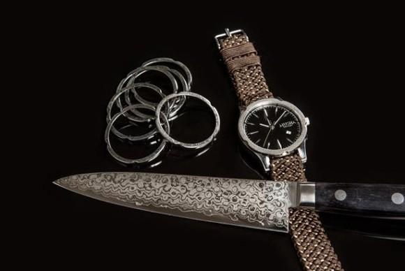 Đây là chiếc đồng hồ được tạo nên từ kỹ thuật rèn kiếm 700 năm tuổi của Nhật Bản - Ảnh 3.
