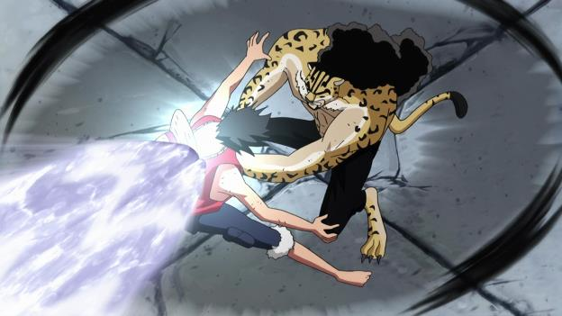 Đội trưởng CP9 Rob Lucci là người dùng duy nhất đã dùng Rokuogan khi đấu với Luffy tính đến thời điểm này.
