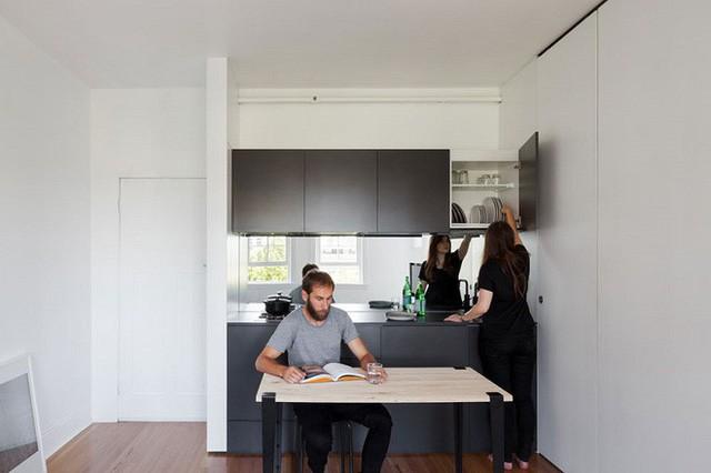 Căn hộ vỏn vẹn 27m² trên tầng 20 của vợ chồng trẻ tuy nhỏ nhưng khiến ai cũng ao ước - Ảnh 13.