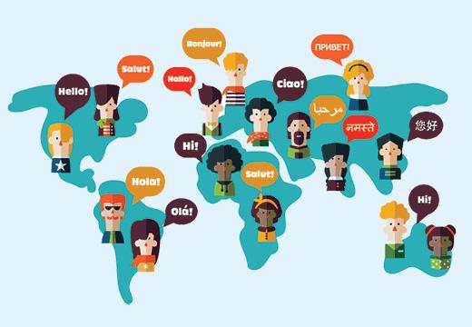 ...bởi có tới 68 ngôn ngữ khác nhau ở đây.