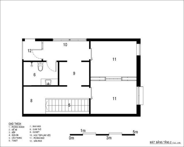 Tổng chi phí chỉ 500 triệu, ngôi nhà 2 tầng ở Bình Dương này là hình mẫu lý tưởng cho người thu nhập thấp - Ảnh 14.