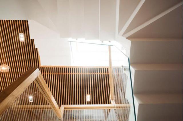 Ngôi nhà ống 7 tầng sâu hun hút ở TP. HCM đẹp ấn tượng trên tạp chí kiến trúc của Mỹ - Ảnh 16.