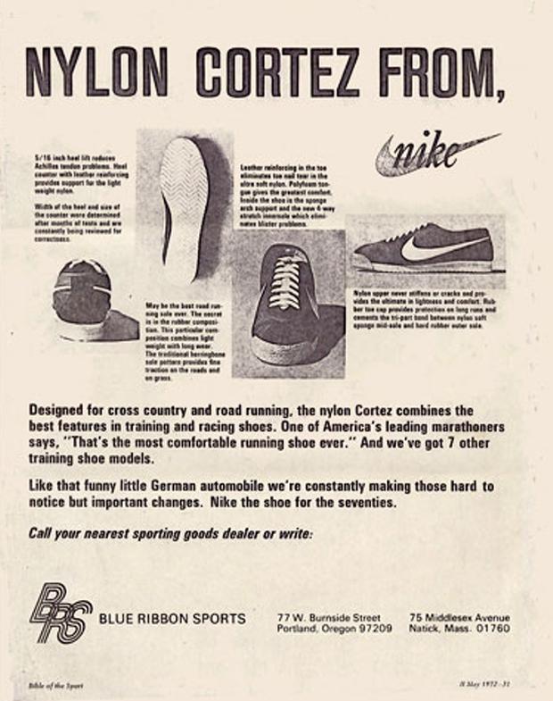 Nike Nylon Cortez