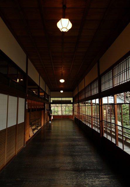 Hành lang chim chích ở Eikan-dō Zenrin-Ji