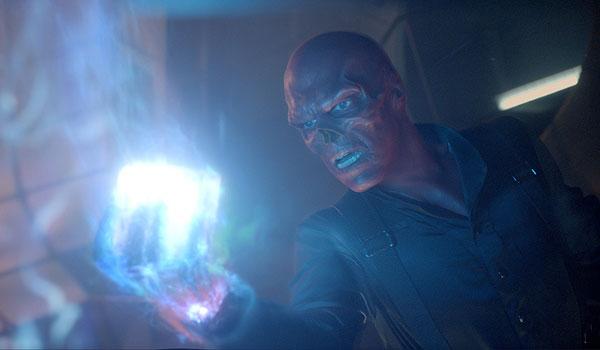 Red Skull và khối Tessaract - Space Stone trong Captain America: The first Avenger