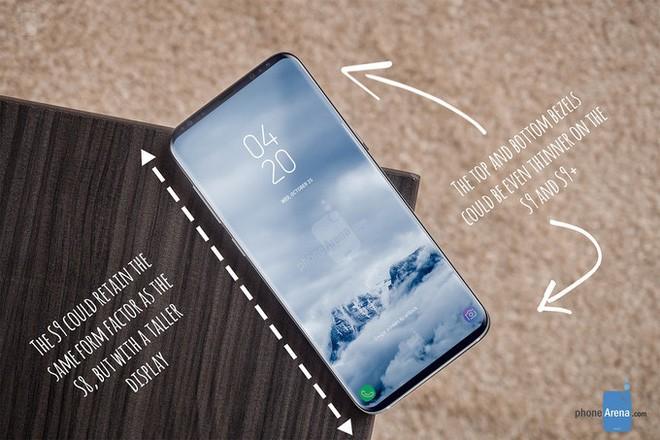 Galaxy S9/S9+ sẽ có màn hình được tối ưu tốt hơn so với thế hệ Galaxy S8
