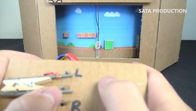 Hướng dẫn làm game Mario từ bìa các-tông cực đỉnh, hội yêu DIY chắc chắn sẽ thích mê - Ảnh 5.