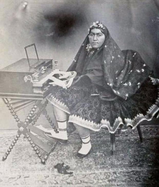 Anis al-Doleh - tuyệt sắc giai nhân của Shah Nasser