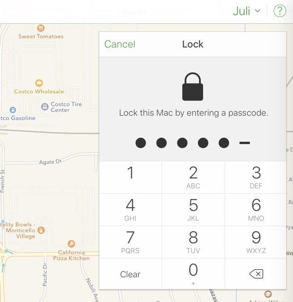 Thật dễ dàng để mở một chiếc Macbook với mật khẩu trong tính năng Find My iPhone nếu bạn có ID Apple của bất cứ ai.
