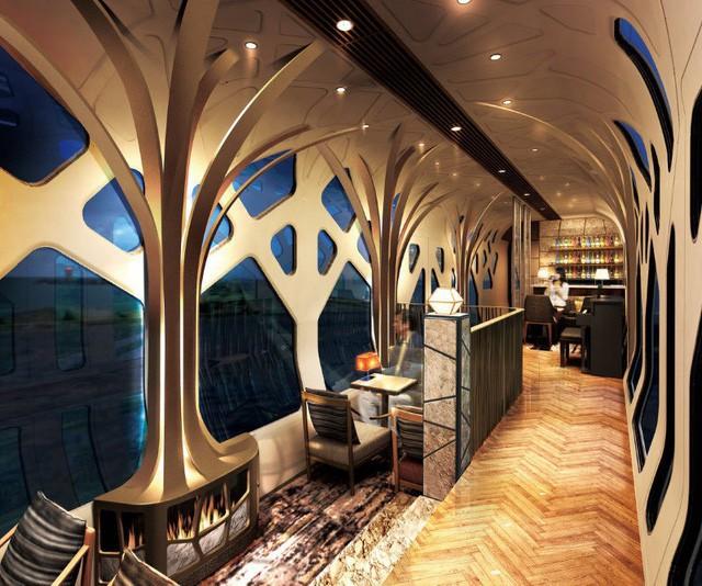Trải nghiệm đoàn tàu siêu sang chỉ dành cho giới nhà giàu Nhật Bản với giá vé 12.000 USD/người - Ảnh 4.