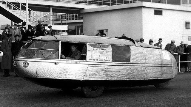 Buổi chạy thử xe Dymaxion