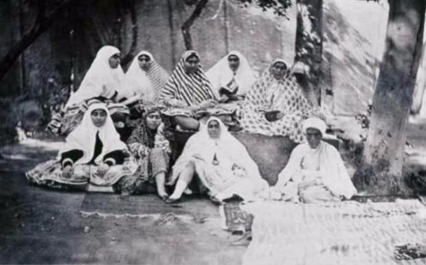 Đội harem của shah Nasser al-Din