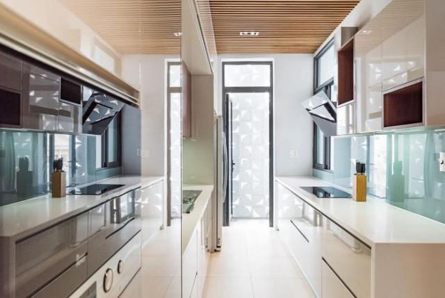 Ngôi nhà ống 7 tầng sâu hun hút ở TP. HCM đẹp ấn tượng trên tạp chí kiến trúc của Mỹ - Ảnh 6.