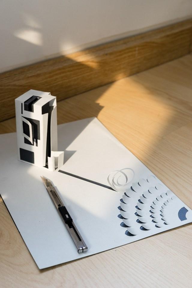 Torn House được lấy ý tưởng từ nghệ thuật gấp giấy