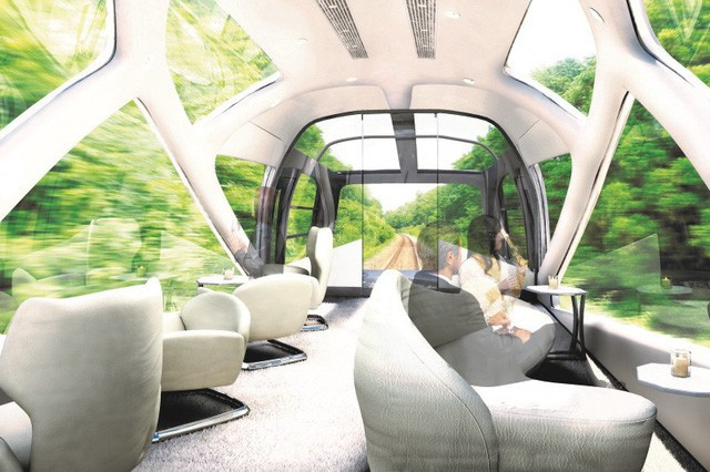 Trải nghiệm đoàn tàu siêu sang chỉ dành cho giới nhà giàu Nhật Bản với giá vé 12.000 USD/người - Ảnh 7.