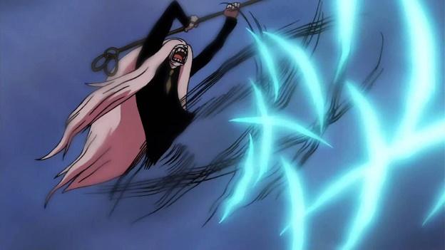 Kỹ thuật Rankyaku là 1 tuyệt kỹ có thể tấn công đối thủ ở khoảng cách xa hiệu quả bằng cách dùng chân đá ra một lưỡi đao không khí.