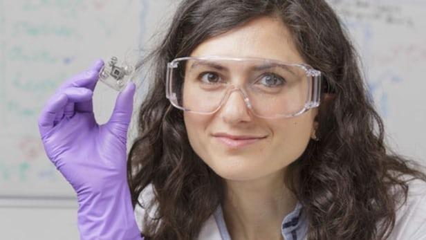 Tiến sĩ Mirella Di Lorenzo đến từ đại học Bath từng gây ấn tượng với phát kiến của mình