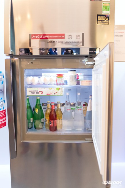 LG Electronics giới thiệu dòng tủ lạnh công nghệ Inverter Linear tại thị trường Việt Nam: tiết kiệm điện hơn, giảm độ ồn, làm lạnh nhanh hơn 35% - Ảnh 7.
