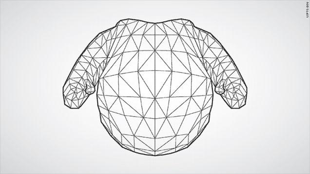 Phác thảo robot trong bằng sáng chế của Disney.