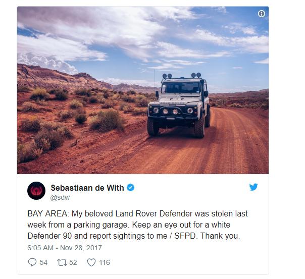 Nhờ Twitter và Reddit, chàng trai tìm thấy chiếc xe bị mất cắp trong chưa đầy 24 giờ - Ảnh 2.