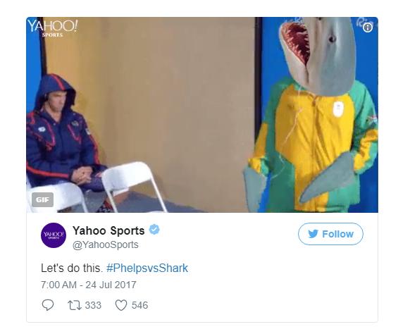 Cá mập trắng: Làm tí bơi thi nhỉ?