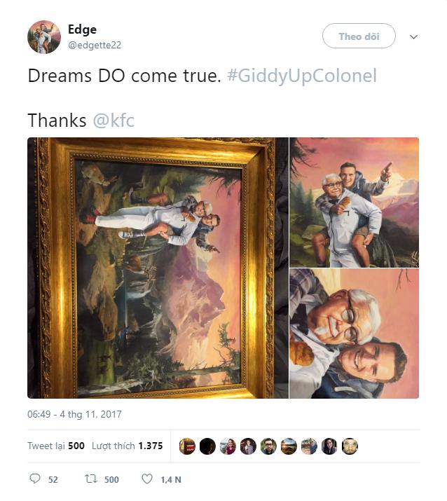 Phát hiện ra ẩn ý trên Twitter của KFC, thanh niên sành mồm được hãng gửi tặng bức tranh cực chất - Ảnh 7.
