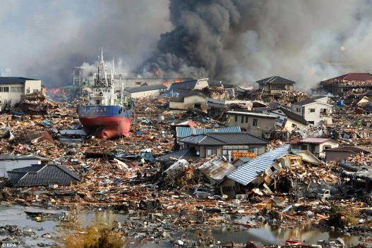 Trận động đất năm 2011 ảnh hưởng rất lớn tới các công ty Nhật Bản