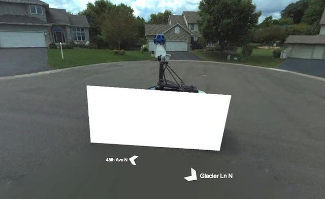 Microsoft lại che đi xe của Google Street View trên cơ sở dữ liệu của mình