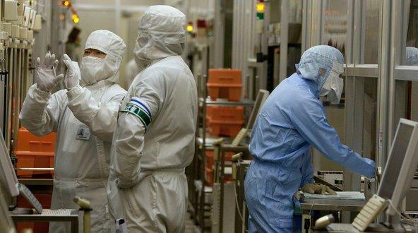 Nhật Bản từng ở vị trí thống trị ngành công nghiệp bán dẫn