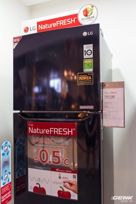 LG Electronics giới thiệu dòng tủ lạnh công nghệ Inverter Linear tại thị trường Việt Nam: tiết kiệm điện hơn, giảm độ ồn, làm lạnh nhanh hơn 35% - Ảnh 6.