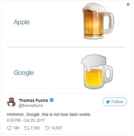 Hmmm, Google, trong thực tế cốc bia không hư cấu như vậy đâu.