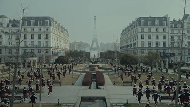 Thiên Đô Thành ở Trung Quốc gây hoang mang vì giống y hệt thành phố Paris của Pháp - Ảnh 2.