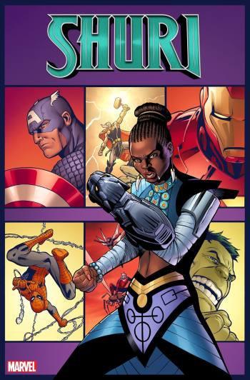 Shuri, cô em gái tài trí của Black Panther sắp có series comic riêng - Ảnh 3.