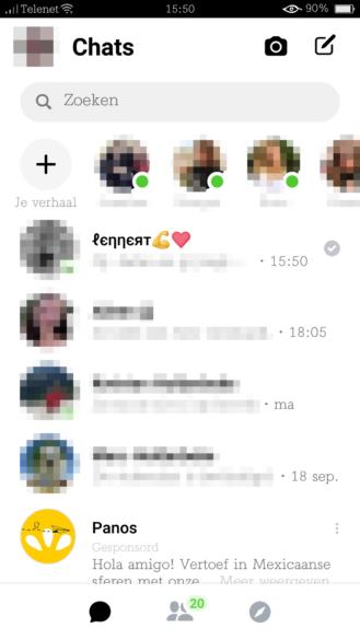 Phiên bản mới của Facebook Messenger đã được tung ra cho một số người dùng - Ảnh 2.