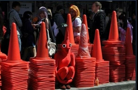 14 hình ảnh kỳ quặc mà bạn chỉ có thể nhìn thấy tại Nhật Bản - Ảnh 11.