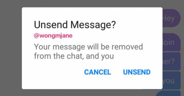 """Facebook Messenger bắt đầu thử nghiệm tính năng giúp bạn """"rút lại"""" tin nhắn nếu có lỡ gửi hoặc viết nhầm cho ai đó - Ảnh 1."""